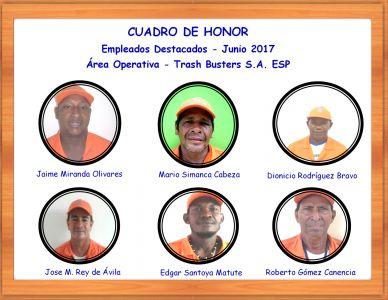 Reconocimiento empleados Junio 2017